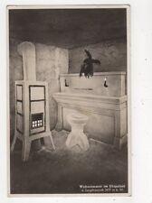 Wohnzimmer im Eispalast Jungfraujoch 1937 TP Postcard Switzerland 646a