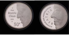 Netherlands - 50 Gulden 1991 - PROOF - .925 zilver, 25 gram