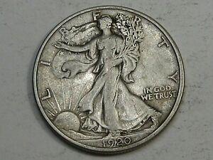 XF 1920 Walking LIBERTY Half Dollar.  #12