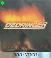 DEDRINGER - DIRECT LINE vinyl LP. Dindisc 1981 DID7 NWOBHM VG+ Con