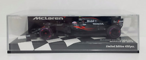 MINICHAMPS 1/43 Model Car F1 Mclaren Honda Button Gp Monaco 2016 Modeling