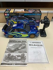 Subaru Impreza WRC 2004 RC CAR 1/10 SCALE TAMIYA TT-01 W/ RADIO NICE 4WD