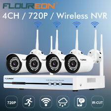 Tonton 4ch Wireless 1080p NVR WiFi Audio Record IP Camera CCTV Security System