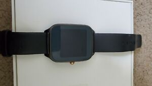 ASUS ZenWatch (WI500Q) Stainless Steel Case Black Leather Loop - (WI500Q)