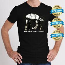 WINTER IS COMING MASHUP Men T-Shirt Size XS-5XL Funny T Shirt