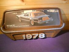 COUGAR XR7 MERCURY SHOWROOM DEALER SIGN 1978 VINTAGE USA ANTIQUE CAR MAN CAVE