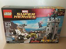 Retired LEGO 76041 Marvel Superheroes Hydra Fortress Smash NEW SEALED