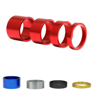 4pcs Aluminum Bicycle Headset Spacer Road Bike Headset Washer Front SteHG