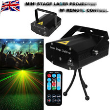 New Stage Lighting R&G Voice-Activated Laser Projector Disco Party Light Remote