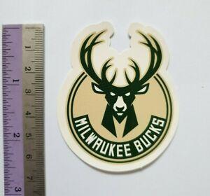 2x Milwaukee Bucks NBA team logo Sticker Skateboard Vinyl Phone Laptop  Decal
