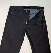 8f59ad52cb6f Emporio ARMANI Mens Jeans Stretch Indigo Blue Regular Fit W32 L34