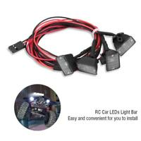 RC Crawler Car Roof Lights LED Light Lamp Parts for Axial Scx10 Traxxas -4#GD