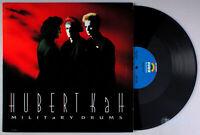 """Hubert Kah - Military Drums (1987) Vinyl 12"""" Single •PLAY-GRADED•"""