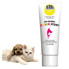 Dog Hair Dye Hair Coloring Hair Bleach Stylish Pet Yellow 50ml Professional
