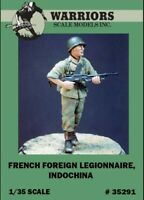 Warriors 1:35 French Foreign Legionnaire Iddochina Resin Figure Kit #35291