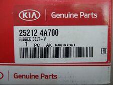 Genuine Kia Belt Fan Alternator Rib-Belt V 25212-4A700