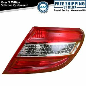 Right LED Tail Light Taillamp Passenger Side For 08-10 Mercedes Benz C Class