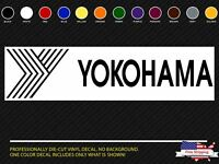 (2x) YOKOHAMA Sticker Die Cut Decal Self Adhesive Vinyl