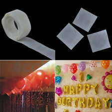 1Roll 100dots Glue Special Dot Double Side Adhesive Balloon Sticker Ballons Tool