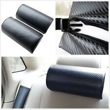 2 X Carbon Fiber Embroidery Car Off-Road Rest Relax Cushion Headrest Neck Pillow