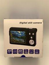 Digital still Camera 30 MP 8X Zoom 2.7 Inch LCD Screen With Li-ion Battery