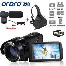 ORDRO HDV-Z20 1080P WIFI Digital Video Camera Camcorder + Camera Bag  F1