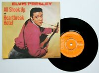 "Near Mint NM Elvis Presley Heartbreak Hotel All Shook Up 7"" VINYL 45 RCA 2694"