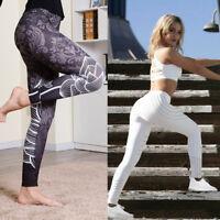 Women Leggings Sport High Waisted Jeggings Trouser Skinny Stretchy Denim Jeans