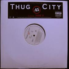 """THUG CITY .45 12""""  Mint- WLP UNIR 21081 1 Vinyl 2003 Record"""