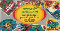 Figurine autoadesive pronto per l'uso - Stemmi Stellari - ediz. P.E.A. Torino