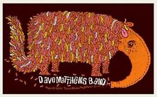 Dave Matthews Band Poster 2010 Irvine Ca Anteater Numbered #/400 Rare!