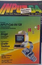 Input 64 8/87 1987 C 64 Diskette (Game, Verpackung, Anleitung)