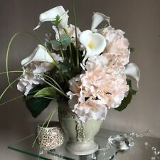 Handmade Hydrangea Standing Dried & Artificial Flowers