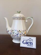 Gien TOSCANA 5-Cup Coffee Pot with Lid ~ France