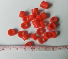 Promotion 25pcs Red Large Size Dental Silicone Instrument Color Code Rings