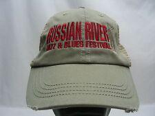 RUSSIAN RIVER JAZZ & BLUES FESTIVAL - ADJUSTABLE BALL CAP HAT!