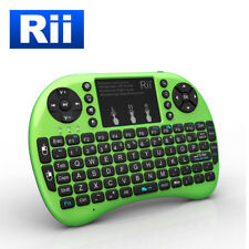 Rii i8+ Wireless Mini Keyboard Mouse backlite Touchpad for PC Smart TV GREEN