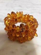 Genuine Baltic Honey Amber Old VintageBracelet 33.9 gm Natural  Gemstone