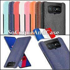 Etui Housse coque Crocodile Texture Case Asus Zenfone 7 ZS670KS / 7 Pro ZS671KS