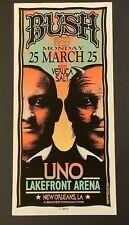 Bush 1997 Arminski Silkscreen Concert Poster Veruca Salt