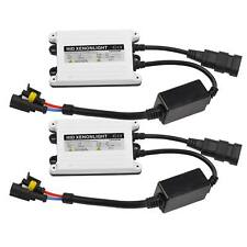 2X Car AC 12V 55watt Slim HID Replacement Ballast 55W Xenon Digital Conversion