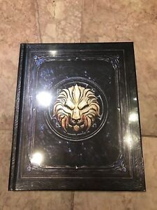 WORLD OF WARCRAFT BATTLE FOR AZEROTH COLLECTOR'S EDITION ELEGY A GOOD WAR BOOK