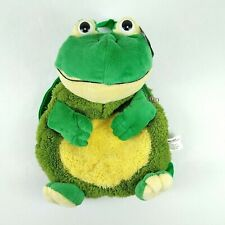 PACK MATES By Kellytoy Green Frog Mini Backpack Bag Plush Stuffed Animal Toy