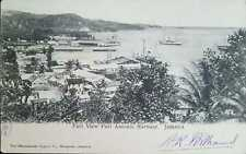 O) JAMAICA, PART VIEW PORT ANTONIO HARBOUR, LANDSCAPE. POSTAL CARD XF
