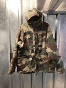 Patrol Equipment Wet Weather Trilaminate Army Military Camo Woodland Jacket XXL