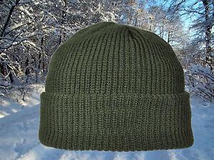 ideale warme Strickmütze Mütze von Skogen mit Thinsolate oliv one size
