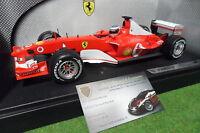 F1 FERRARI F2003 GA #2 R. BARRICHELLO au 1/18 HOT WHEELS B1024 formule 1 voiture