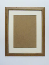 Antique Pine Real Wooden 12x16 Picture  Photo Frame  Mount 7.5x11.5 Hang