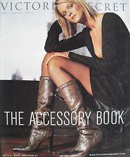 RACHEL ROBERTS Fall 2000 VICTORIA'S SECRET Catalog ACCESSORY BOOK