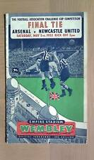 ARSENAL V NEWCASTLE UNITED 1951-52 FA CUP FINAL